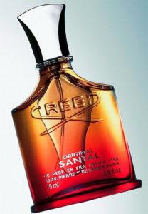 Botella en presentación 75 ml de Creed Original Santal para hombre