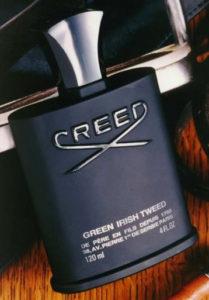 Botella de Creed Irish Tweed en presentación 120 ml