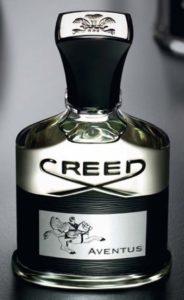 Botella del perfume Aventus hecho en la casa Creed