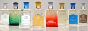 Botellas de perfumes modernos de Creed