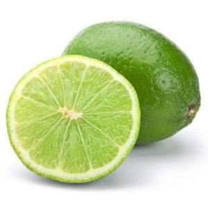 Lima, fruta cítrica aromática
