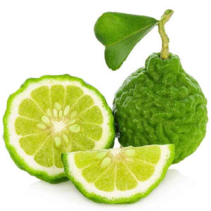 Fruta cítrica bergamota