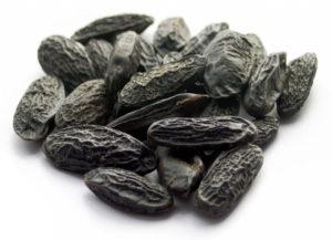 Habas tonka aromáticas y negras