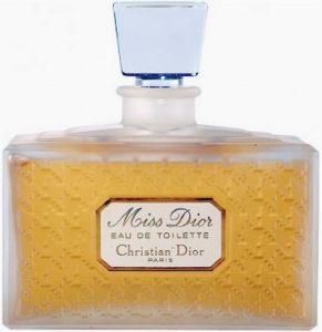 Perfume Miss Dior original de 1947