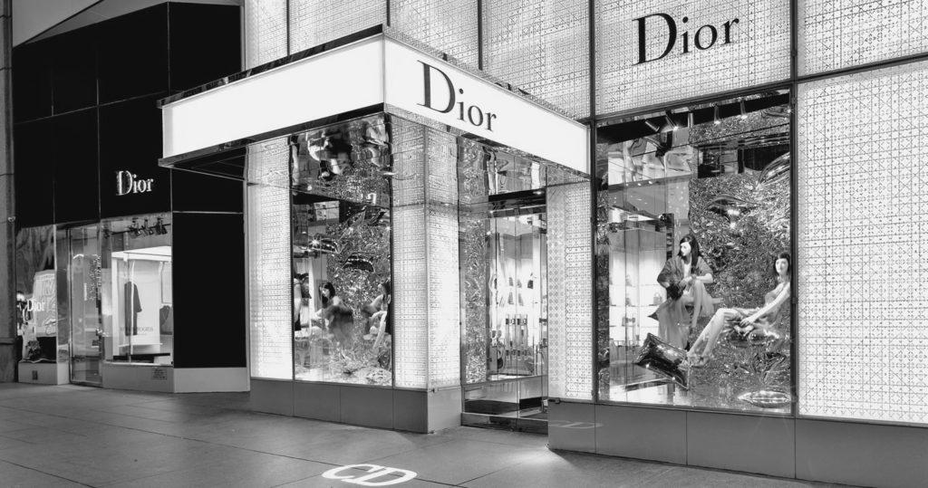 Tienda Dior en la 5ta avenida con la 57, Nueva York
